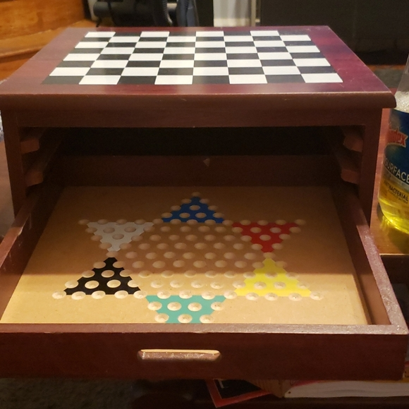 6  Board games and  Case wood